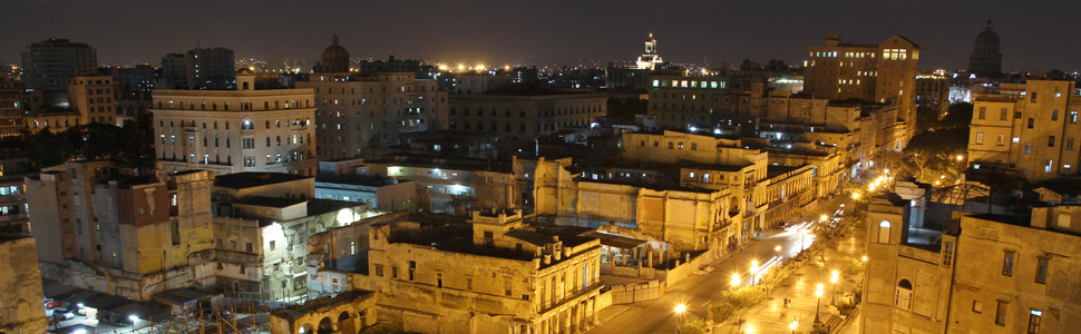 Panoramic view of the Havana